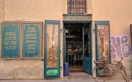 Ochutávka absinthu v pražských hospodách a barech