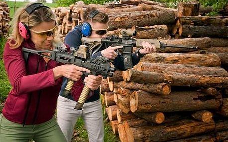 Zážitková střelba poblíž Kolína pro dva