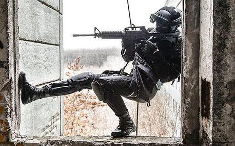 SWAT trénink pro skupiny nedaleko Prahy (2-10 osob)