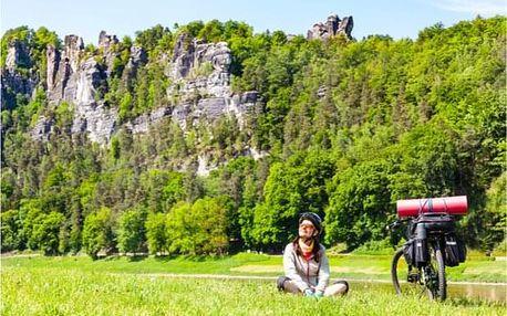 Lodí a na kole Českým Švýcarskem s průvodcem