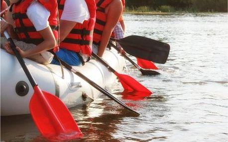 Na raftu nebo kanoi po Labi v Českém Švýcarsku