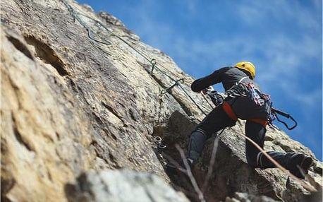 Půldenní začátečnický kurz lezení v Moravském Krasu