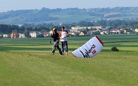 Jednodenní kurz landkitingu v Ostravě