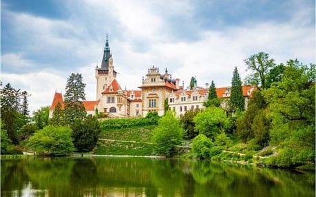 Jednodenní cyklovýlet z Prahy do Průhonického zámku a parku
