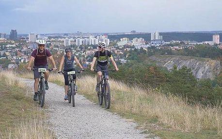 Na horském kole Prahou s úžasnými vyhlídkami
