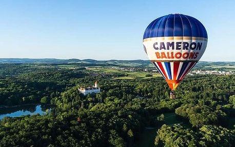 Soukromý let horkovzdušným balónem pro 2 z Prahy