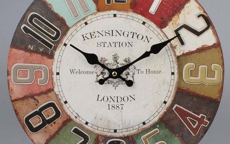Nástěnné hodiny Vintage London