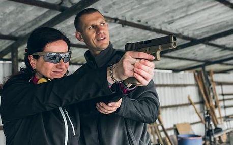 Zážitková střelba z pistole, samopalu a útočné pušky