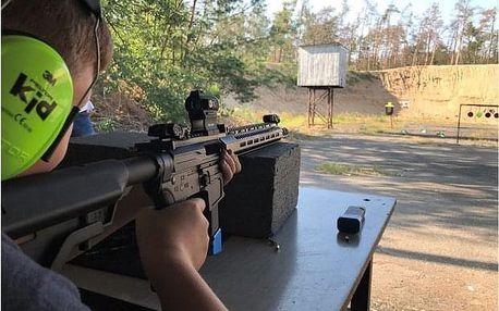 2 hodiny zážitkové střelby poblíž Kolína pro děti