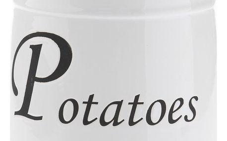 Keramická dóza na brambory, 4 l