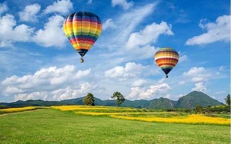 Soukromý let horkovzdušným balónem pro 4 z Prahy