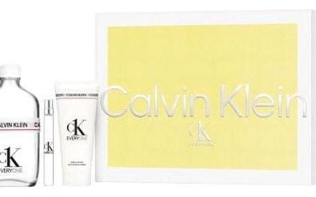 Calvin Klein CK Everyone dárková kazeta unisex toaletní voda 100 ml + toaletní voda 10 ml + sprchový gel 100 ml