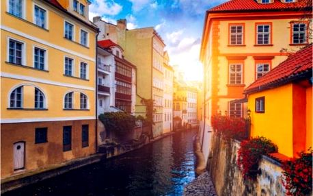 Pohodový výlet na kole historickým centrem Prahy