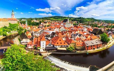Výlet z Prahy do Českého Krumlova s obědem
