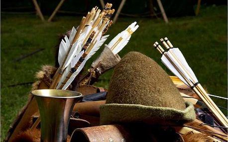 Středověká bojová hra v Zámeckém resortu Dětenice