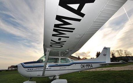 Pilotem Cessny 172 na zkoušku (profi plus balíček)