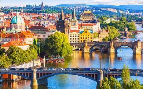 Pražské vyhlídky: 3h výlet na e-koloběžce s vyzvednutím