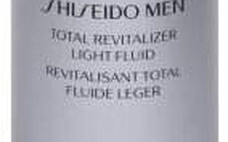 Shiseido MEN Total Revitalizer Light Fluid 80 ml hydratační pleťový fluid pro muže