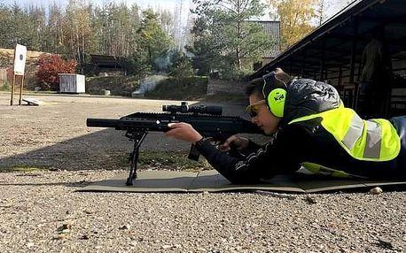 2 hodiny zážitkové střelby pro tátu s dětmi poblíž Kolína