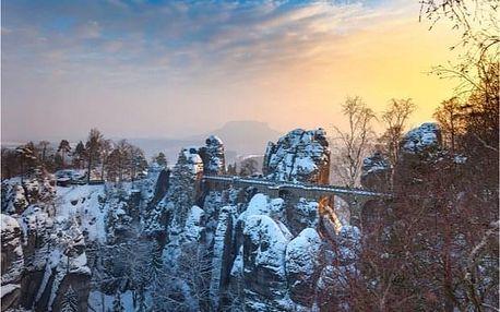 Zimní túra národním parkem České Švýcarsko