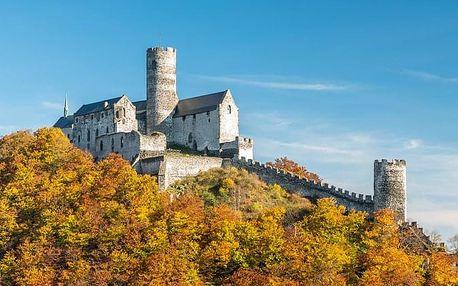 Vyhlídkový let nad hradem Bezděz a Máchovým jezerem
