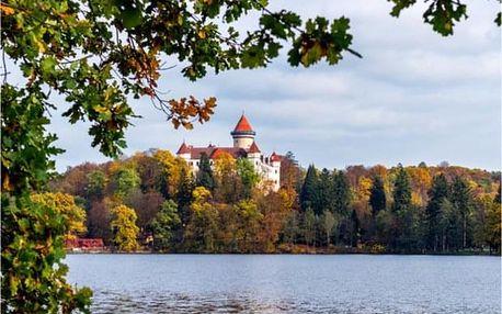 Výlet vlakem na Konopiště a na kole zpět do Prahy