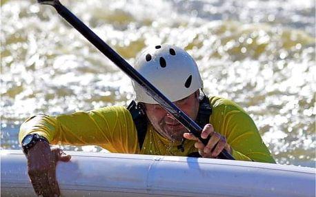 4 hodiny extrémního paddleboardingu v Praze