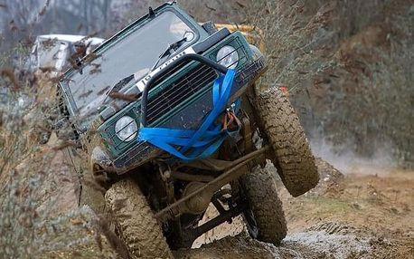 Tréninkový den off-roadové jízdy Land Roverem u Prahy