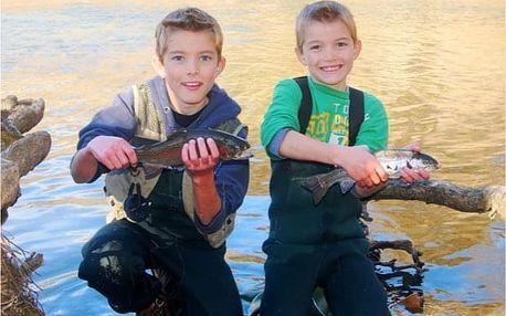 Dvouhodinový kurz rybolovu pro děti v Bečově nad Teplou