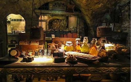 Originální středověká večeře v Praze