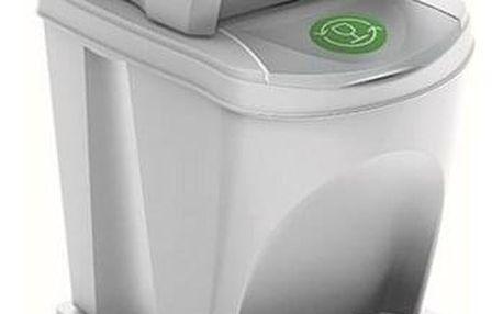 Koš na tříděný odpad Sortibox 25 l, 3 ks, bílá IKWB20S3 S449