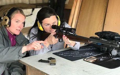 Zážitková střelba pro ženy poblíž Kolína