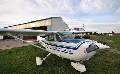 Pilotem Cessny 172 na zkoušku (standardní balíček)