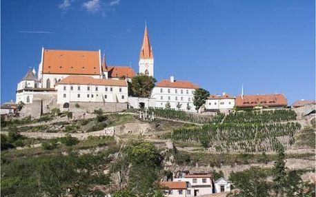 Romantická dovolená na Moravě s ochutnávkou vína