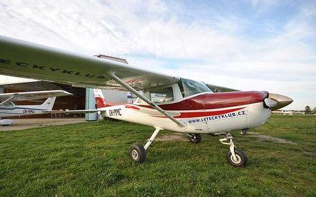 Pilotem Cessny 152 na zkoušku (střední balíček)