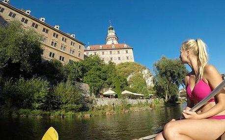 Třídenní plavba po Vltavě z Vyššího Brodu
