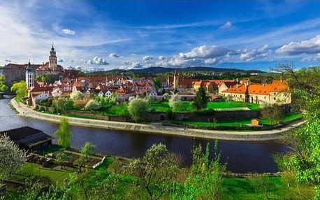 Český Krumlov: město zapsané na seznamu UNESCO