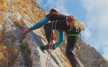 Lezení na skalách pro mírně pokročilé v Praze