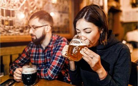 Středně obtížná únikovka: Výlet do budnoucnosti za pivem