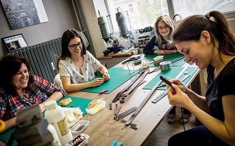 Celodenní workshop v Praze - základy brašnářství