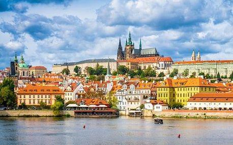 Ranní procházka po okolí Pražskeho hradu