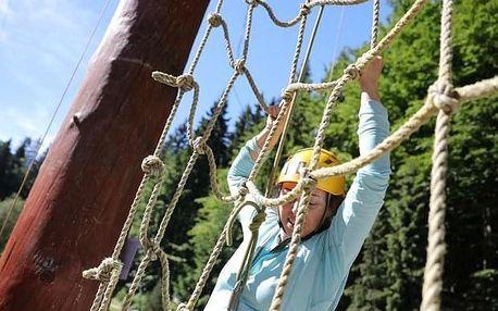 Velké adrenalinové dobrodružství ve Špindlerově Mlýně