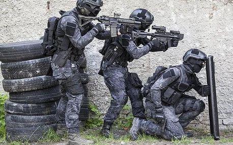 SWAT trénink nedaleko Prahy