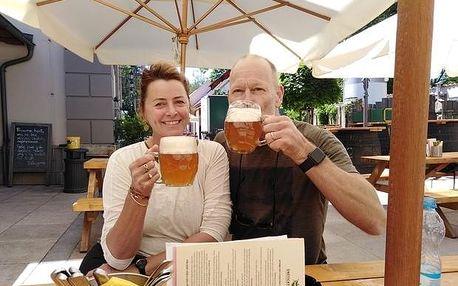 Na horském kole do únětického pivovaru z Prahy