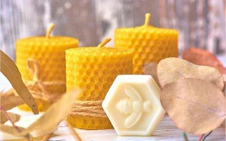 Výroba svíček a ochutnávka medu na včelí farmě