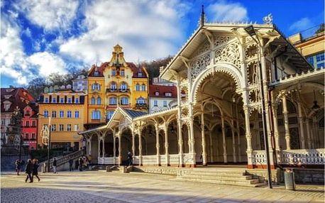 Výlet z Prahy do Karlových Varů s návštěvou sklárny
