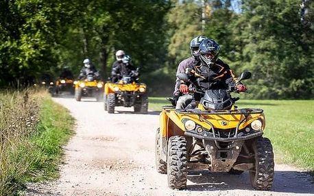 Výlet na čtyřkolkách do Podkrkonoší (dva jezdci)