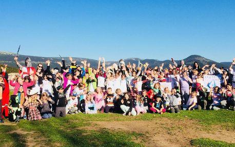 Letní tábor ve Špindlu pro děti od 6 do 14 let