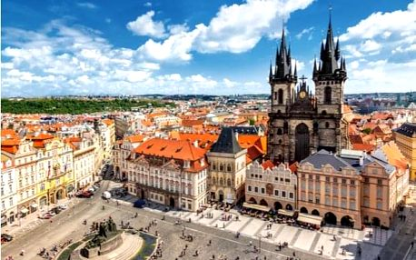 1,5hodinová vyjížďka na elektrokole do centra Prahy
