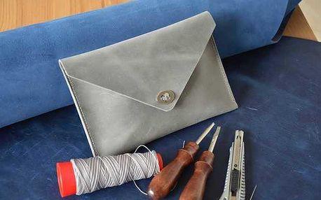 Workshop v Praze - výroba koženého psaníčka